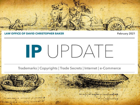 IP Update - February 2021 Edition