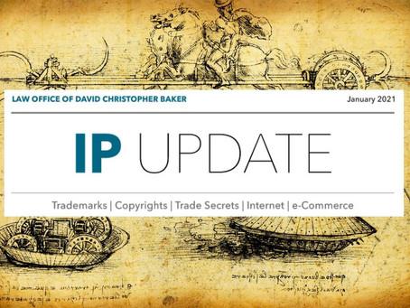 IP Update - January 2021 Edition