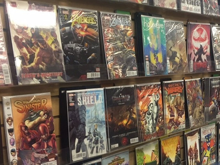 It Ain't San Diego Comic-Con, But it is in San Diego and Involves Plenty of Comic Books and Artists