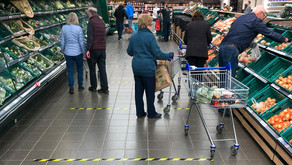 Angst in the Aisles - 70% of Grocery Shoppers Avoiding Busy Aisles