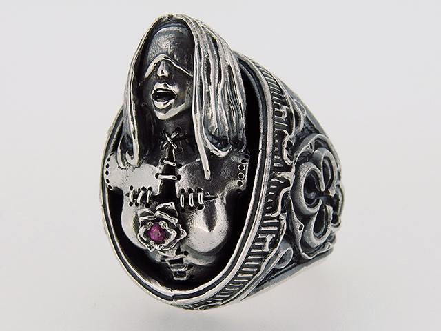 ゲルダという女性モチーフのリング5