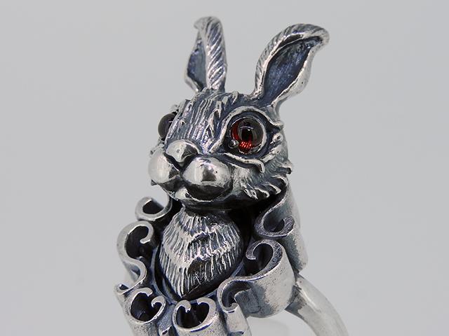 ウサギシルバーリング