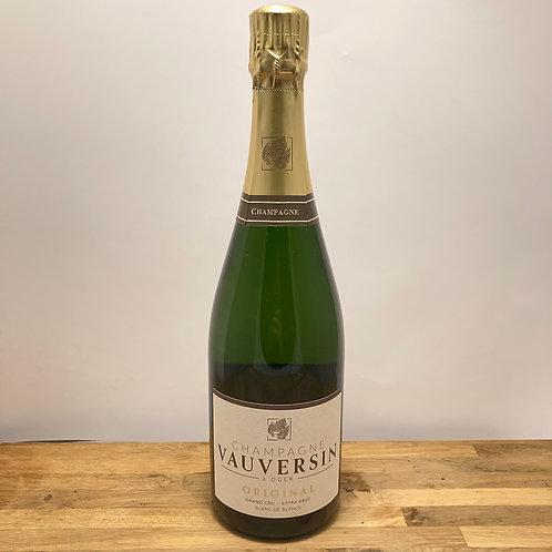 Champagne Vauversin   Brut Original 7.5 dl