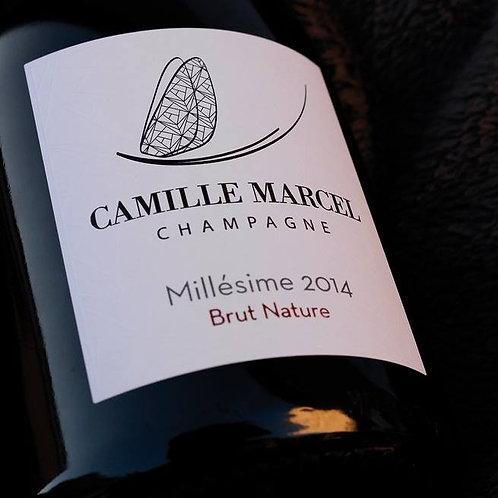 Champagne Camille Marcel | Millésime Brut Nature 2014