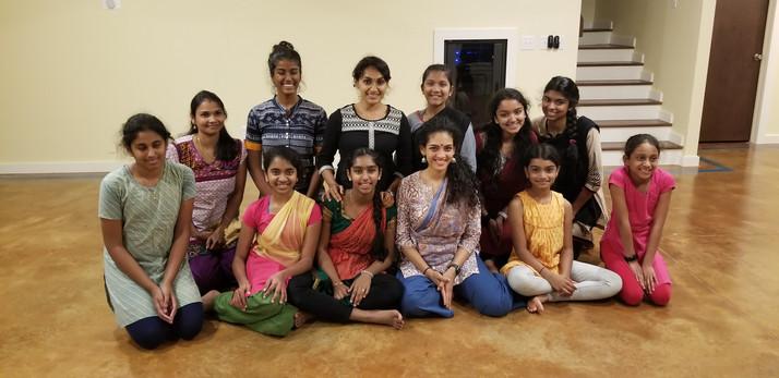 Rukmini Vijaykumar workshop 2019