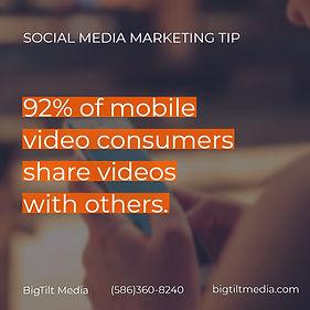 business tips, business advice, video, statistics, social media, social media marketing