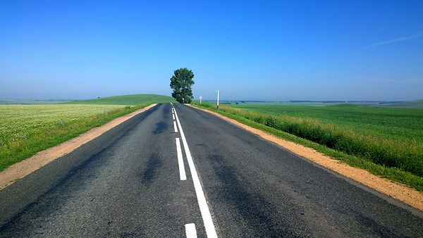 carretera vacía