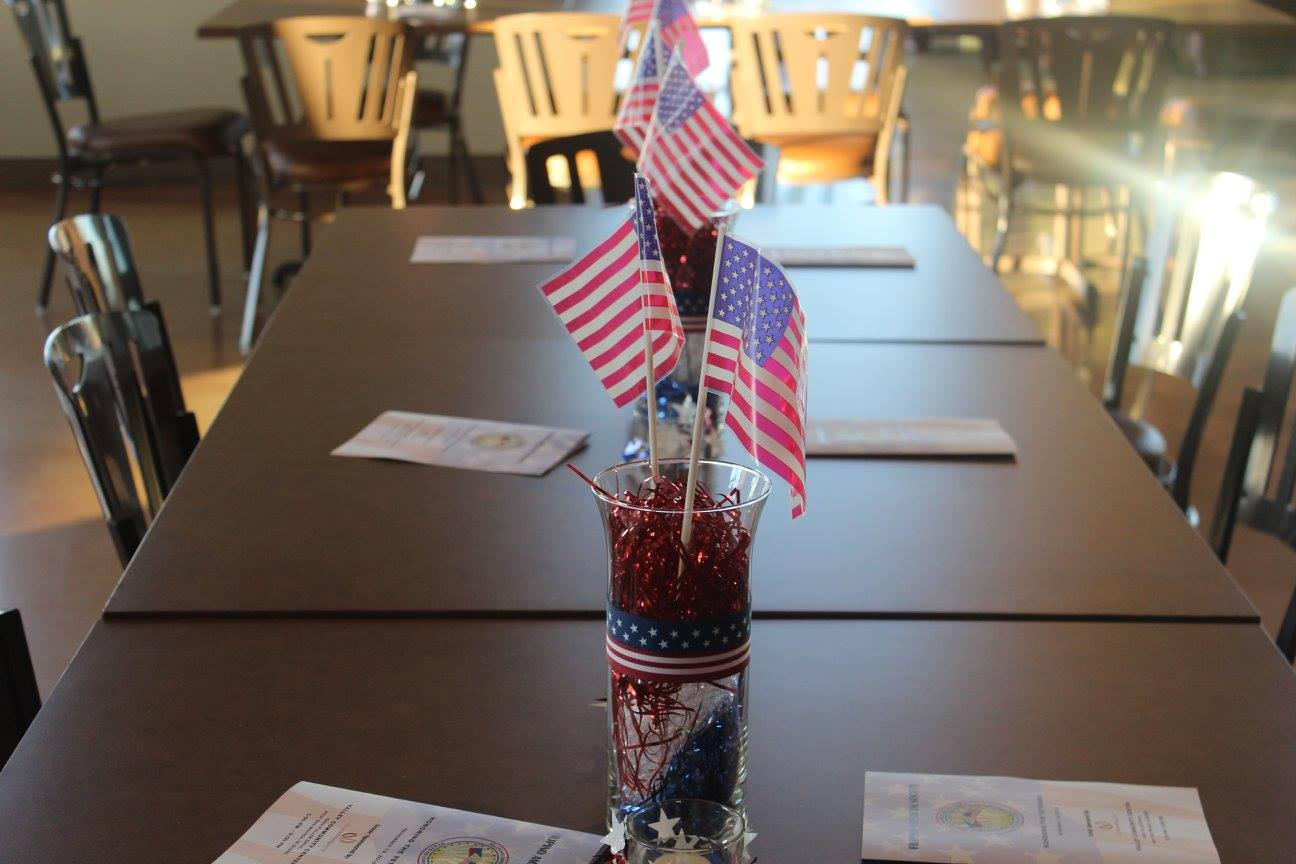 Veteran's Table Display
