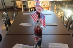 Veteran's Table Display