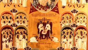 November 01 All Saints Day