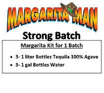Marg Man Strong Margarita Kit Strawberry