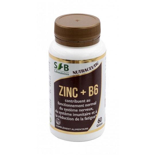 Zinc + B6 - 60 Gélules