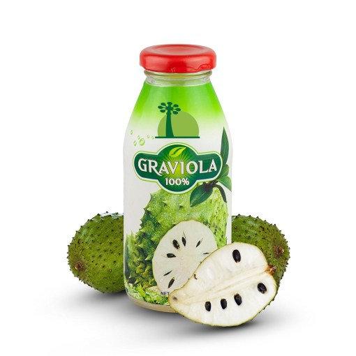 Pur jus de fruits de Graviola Corossol, Annona muricata