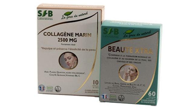 Pack Beauté : Collagène marin + Beauté Xtra