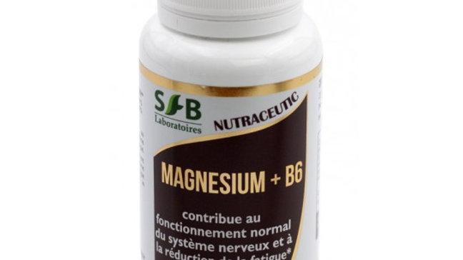 Magnesium Marin + B6 - 60 Gélules
