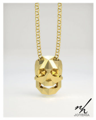 Bone Facet .925 Golden - Dije