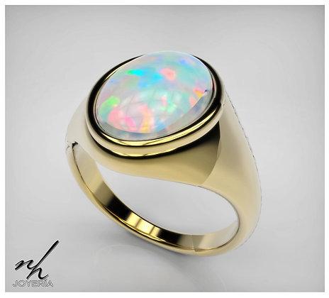 Opal Signet .925