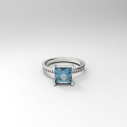 Blue Square -14k