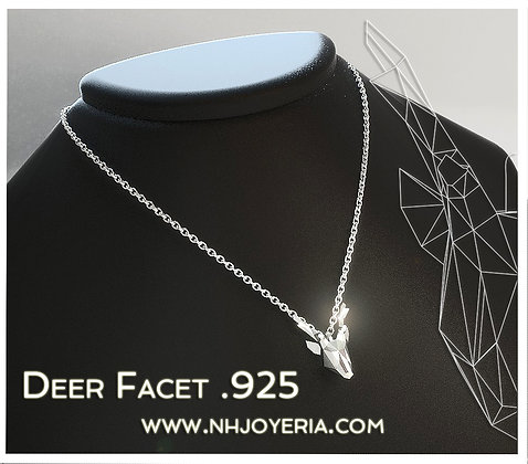 Deer Facet .925