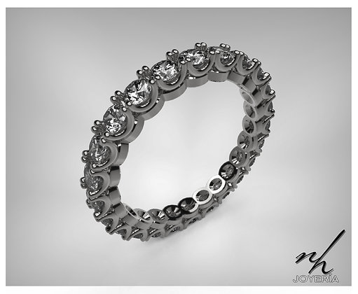 Churumbela Orga 14k -Black Rhodium