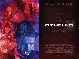 OTHELLO Quad Poster FULL SIZE 300dpi SML