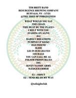 2021-01-07 - Tim Britt Band - Setlist.jp