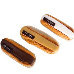 Eclairs chocolat/moka/vanille