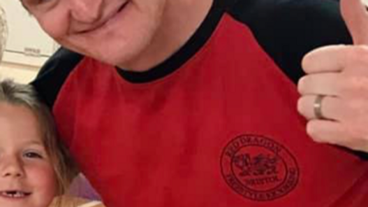Retro Red Dragons T-Shirt