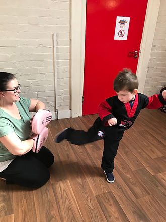 Preschool martial arts in Bishopston, Henleaze and Horfield.  Preschool Kicboxing in Bishopston, Hor