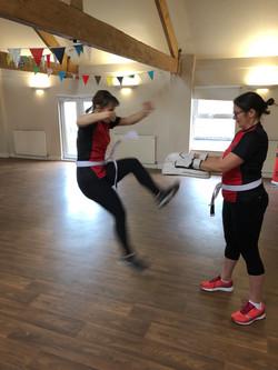 Red Dragons Martial Arts Ladies Kickboxing Bristol, Bishopston, Henleaze, Horfield