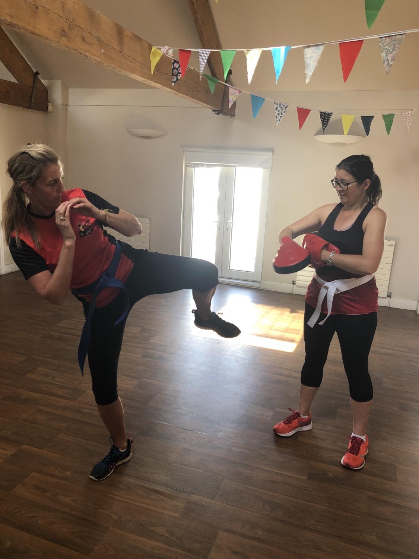 Red Dragons Ladies Martial Arts in Bristol, Bishopston, Henleaze, Horfield A fun way to get fit.