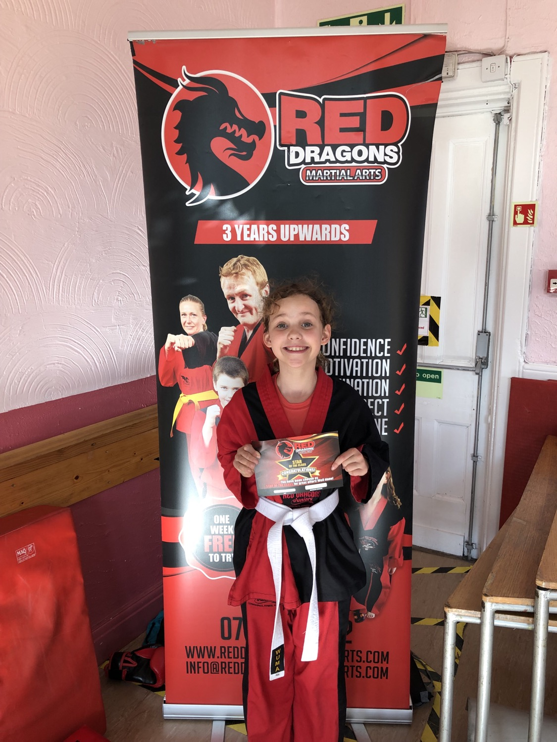 Red Dragons Martial Arts Rewarding our Members Bristol Henleaze Horfield Bishopston Childrens Martia