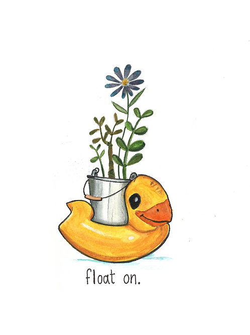 float on | Painted Songs