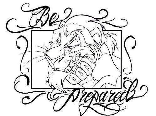 Scar - tattoo design