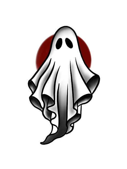 Spooky Sheet - tattoo deposit