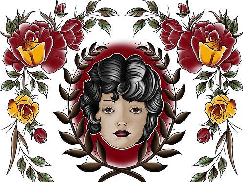 Prints by Chris | rose lady