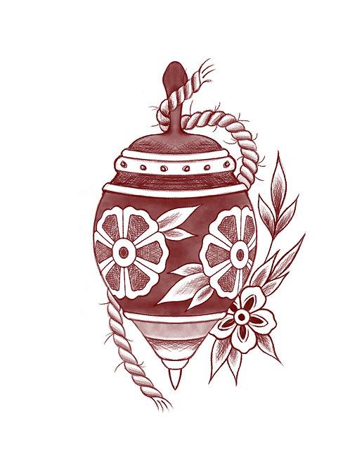 Whirligig - tattoo deposit