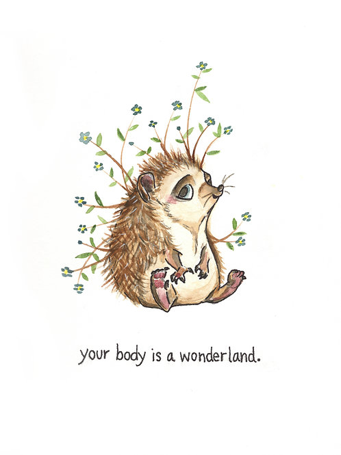 your body is a wonderland | Painted Songs