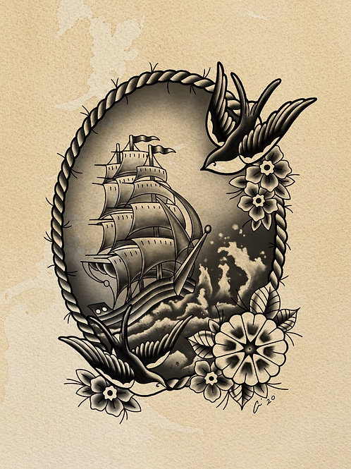 A Sailors Life - tattoo deposit