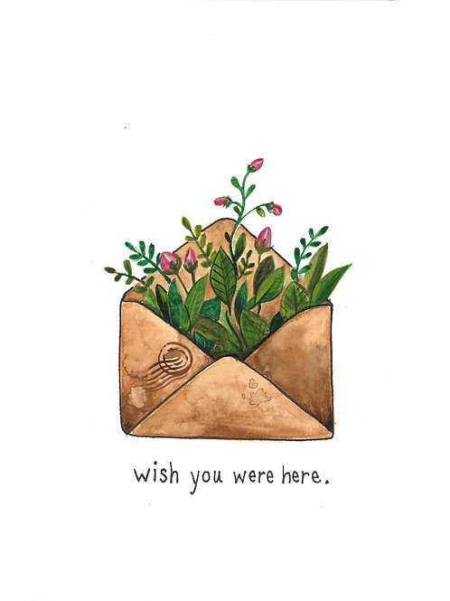 wish you were here | Painted Songs