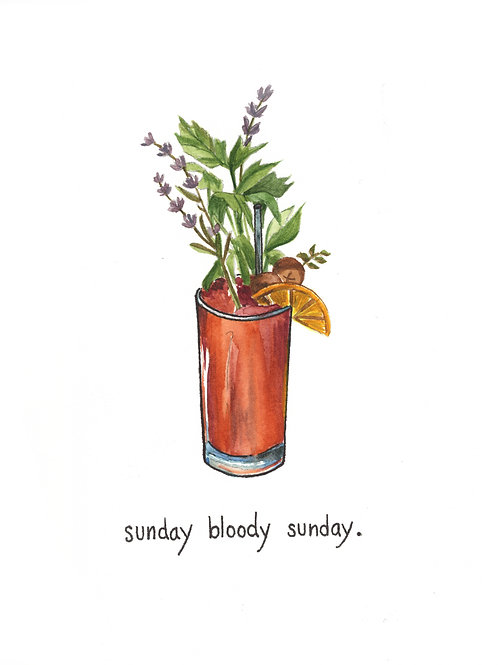 sunday bloody sunday | Painted Songs
