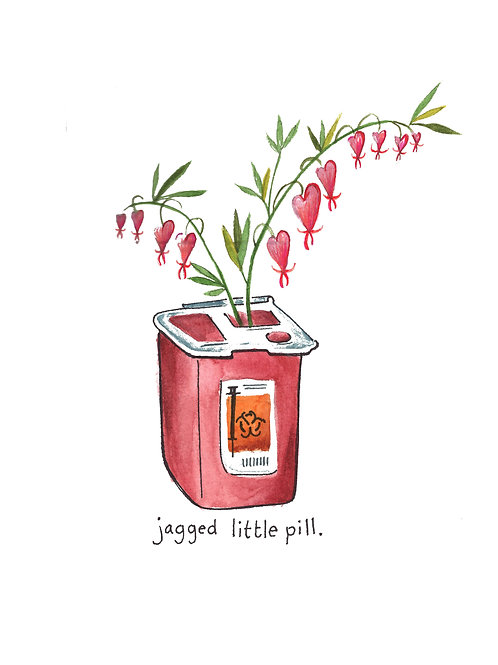 jagged little pill | Painted Songs