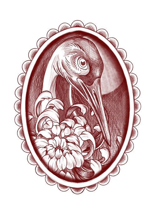 I'm a Fancy Crane - tattoo deposit