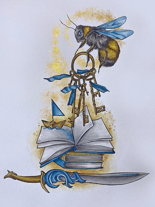 Beekeeper Keykeeper by: Jenny Helm