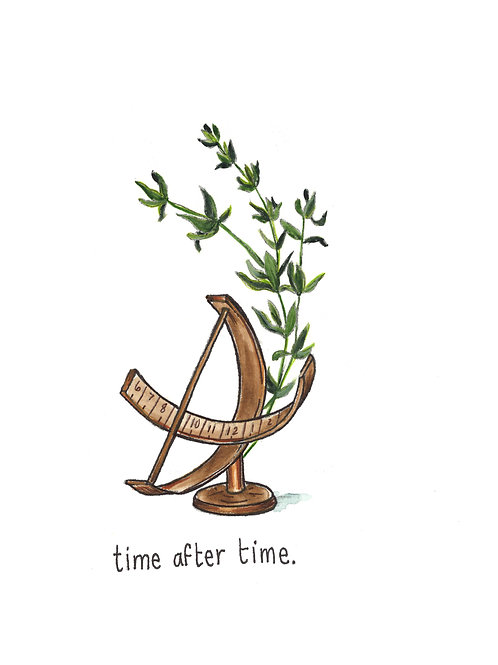 time after time | Painted Songs