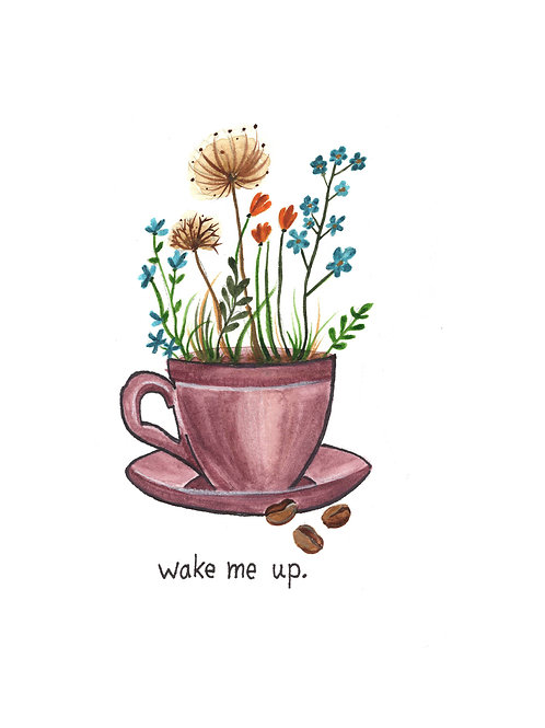 wake me up | Painted Songs