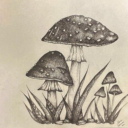 Art by Anna: mushroom valley