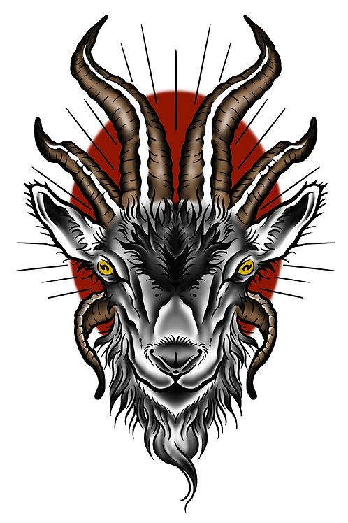 Horny Goat - tattoo deposit