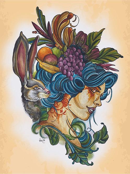 Miss Rabbit Head by: Jenny Helm