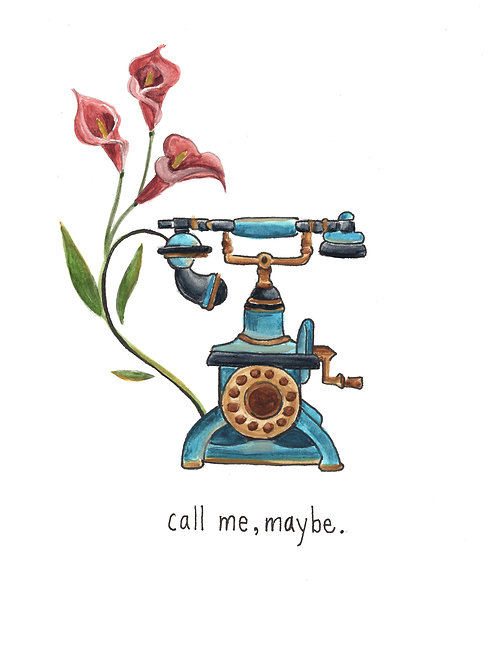 call me maybe | Painted Songs